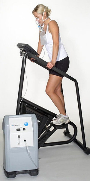 Exercise With Oxygen Therapy